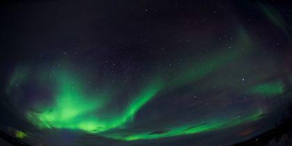 Завораживающие кадры северного сияния сняли в Норвегии