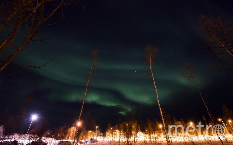 Северное сияние в Норвегии. Фото AFP