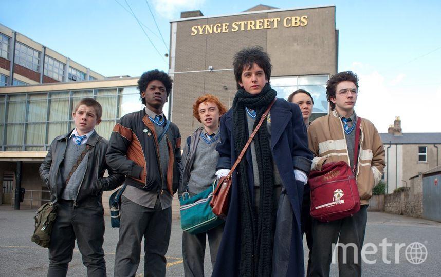 Один из центральных фильмов Фестиваля ирландского кино – комедия «Синг Стрит» Джона Карни, номинированная на «Золотой глобус». Фото кадр из фильма.