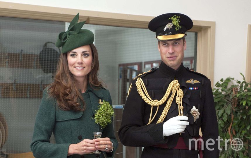 Кейт Миддлтон и принц Уильям в 2015-м году. Фото Getty