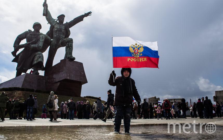 МИД России посвятил крымчанам песню в честь годовщины воссоединения. Фото Getty