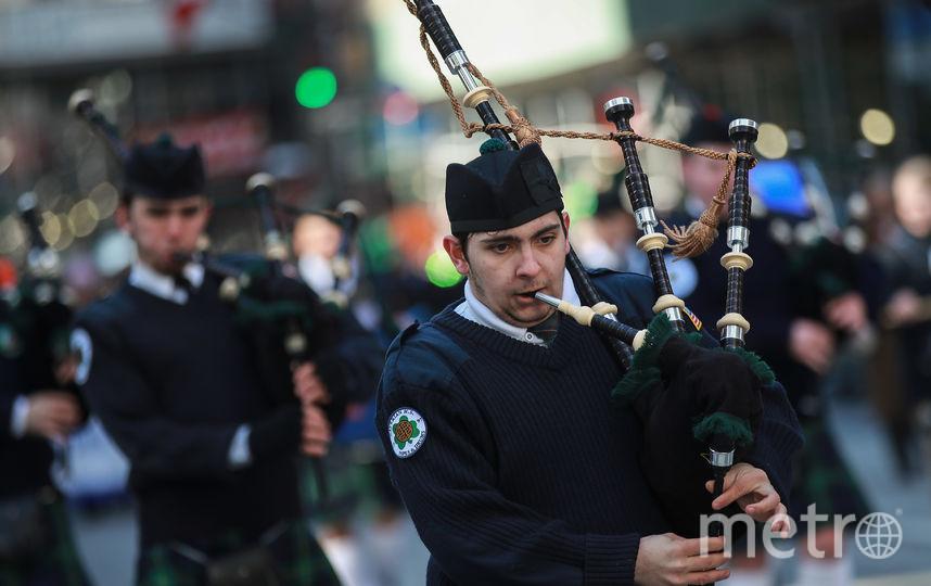 В Нью-Йорке прошел парад в честь Дня святого Патрика. Фото Getty