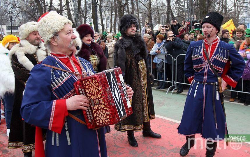 """Парад в честь дня Святого Патрика прошёл в Москве. Фото Василий Кузьмиченок, """"Metro"""""""