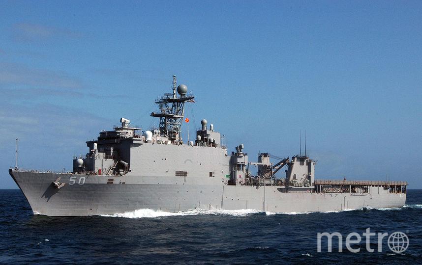 USS Carter Hall (LSD 50). Фото wikipedia.org.