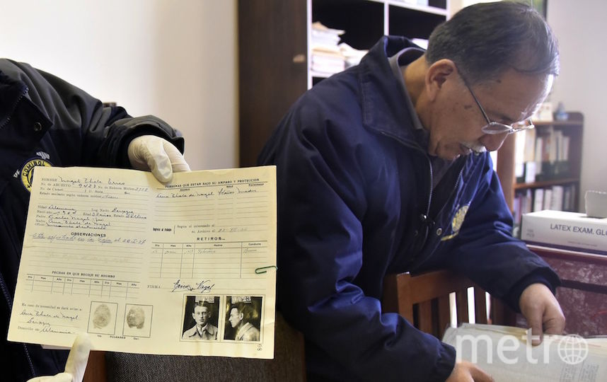 Найденные документы. Фото AFP