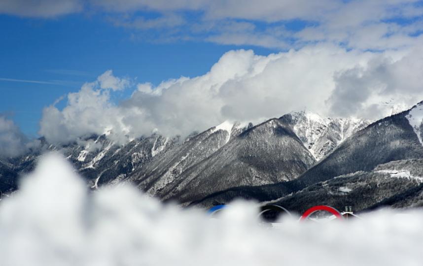 Власти Сочи повысили уровень лавиноопасности. Фото Getty