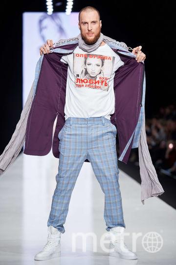 Slava Zaitsev's Fashion Laboratory. Кумир поколения на футболке. Фото предоставлено организаторами Mercedes-Benz Fashion Week