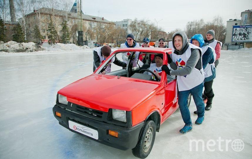 Автокёрлинг. Фото предоставили организаторы соревнований