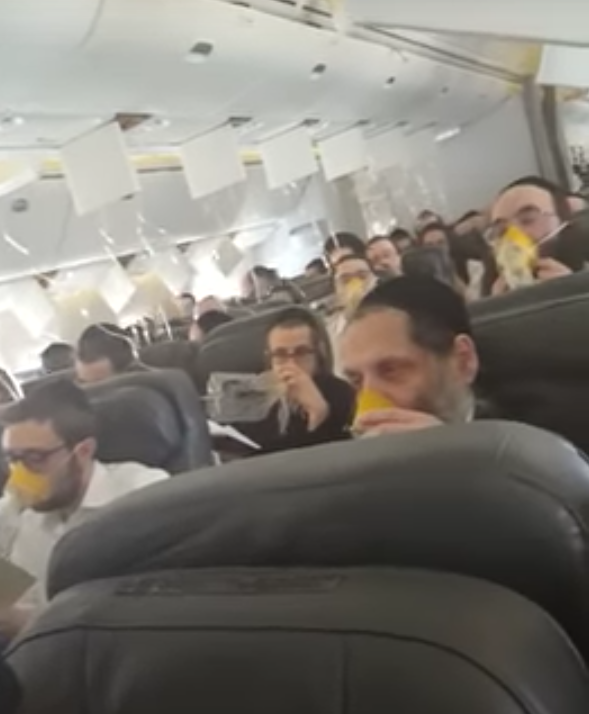 Кадры из самолёта. Фото Скриншот Youtube