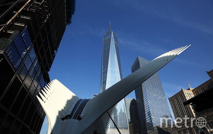 Терминал Всемирного Торгового Центра Калатравы. Фото Getty