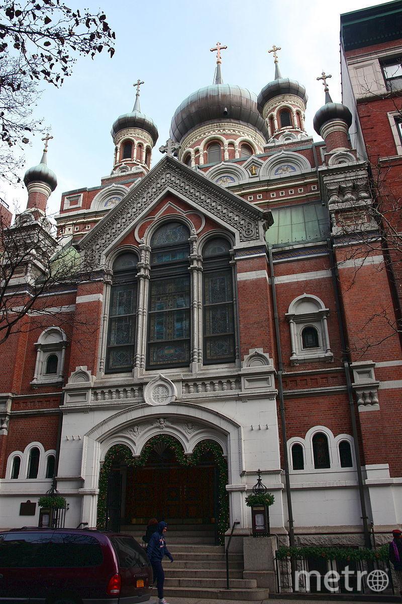 Русская православная церковь в США. Фото Chad Husby