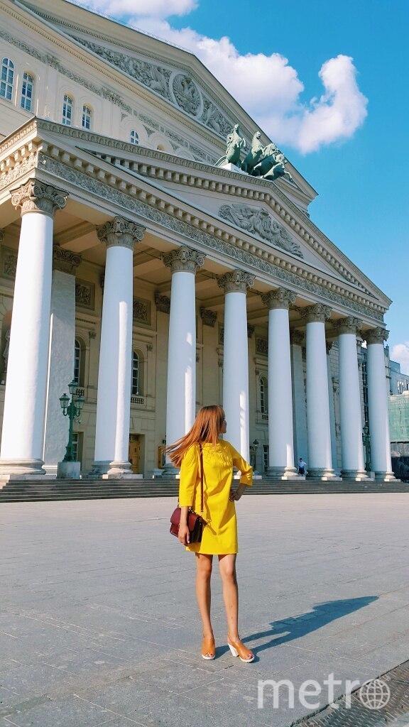 Я считаю его счастливым,потому что побывала в нем первый раз на море и в Москве.В нем я чувствую себя уверенней. Фото Анастасия