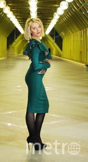 Я люблю это платье, потому что если я в него влезла, то я нахожусь в своей идеальной форме. И оно счастливое: все бизнес-встречи, на которых я была в нем, были успешными и очень продуктивными. Фото Эля Карпова