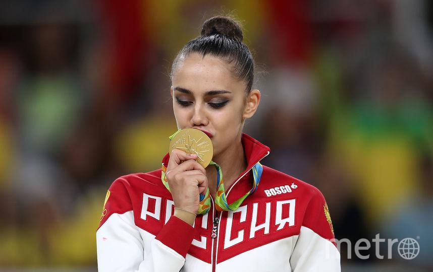 Маргарита Мамун, олимпийская чемпионка. Фото Getty