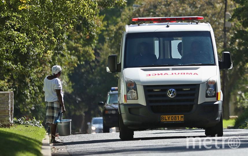 Скорая помощь в Африке. Фото Getty