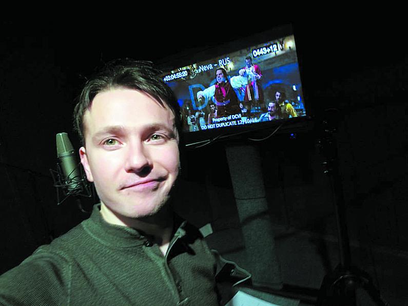 Вадим Мичман уверен, что его герой вполне безобиден. Фото страничка Мичмана в Facebook