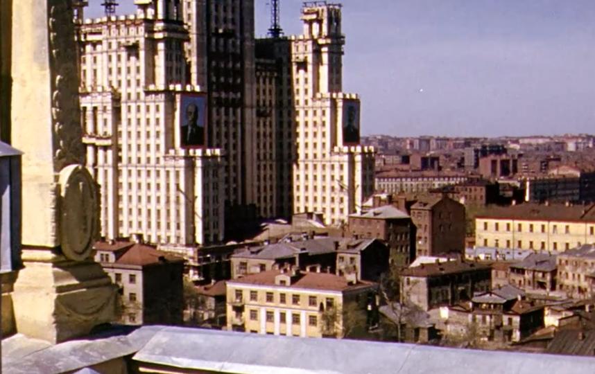 Москва 1950-х. Фото Current Time., Скриншот Youtube