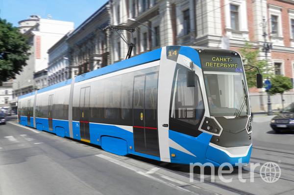 Так выглядит будущий трамвай   OOO «ТКК».
