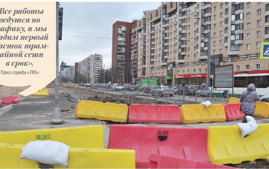 """Проспект Наставников: к концу лета здесь начнёт курсировать частный трамвай, обещает концессионер. Фото Ольга Рябинина, """"Metro"""""""