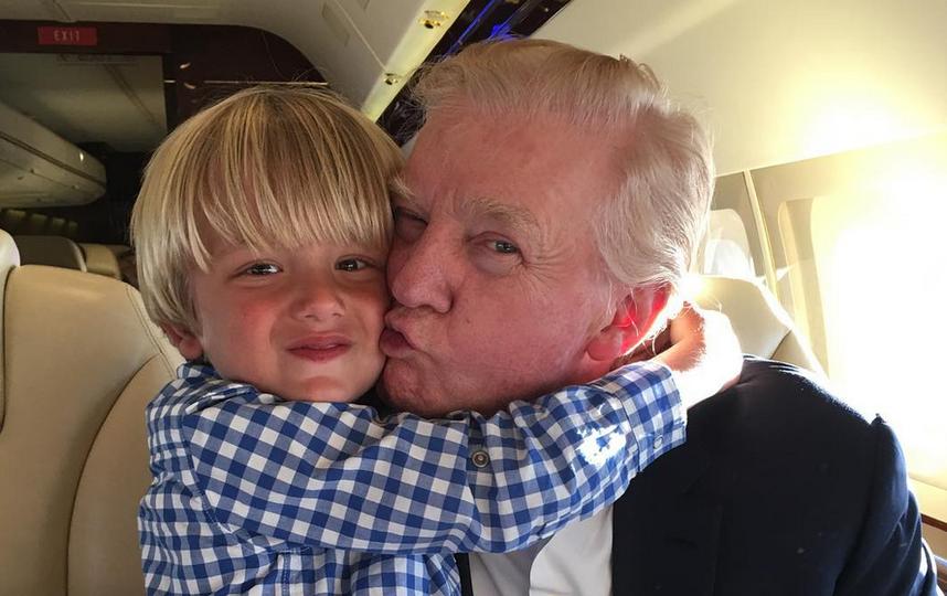 Дональд Трамп вдевятый раз будет  дедушкой