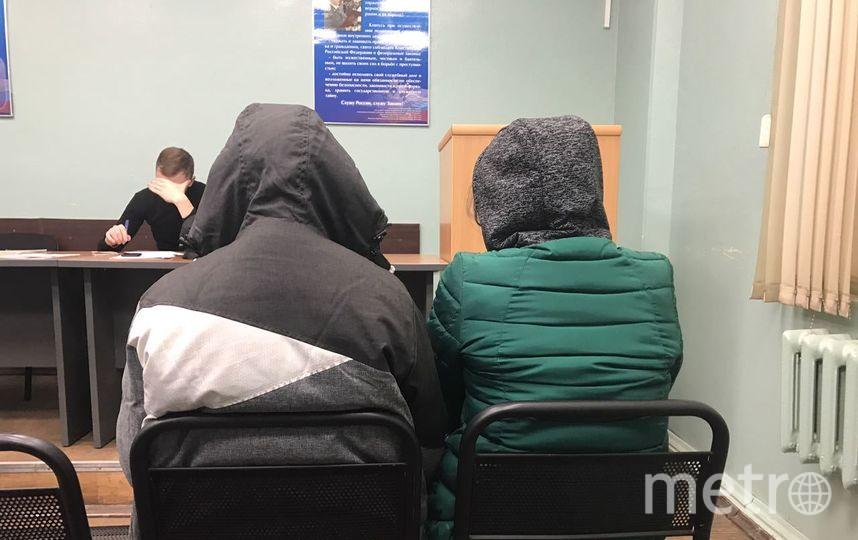 В Петербурге задержаны три малолетних зацепера. Фото сзфоут.мвд.рф