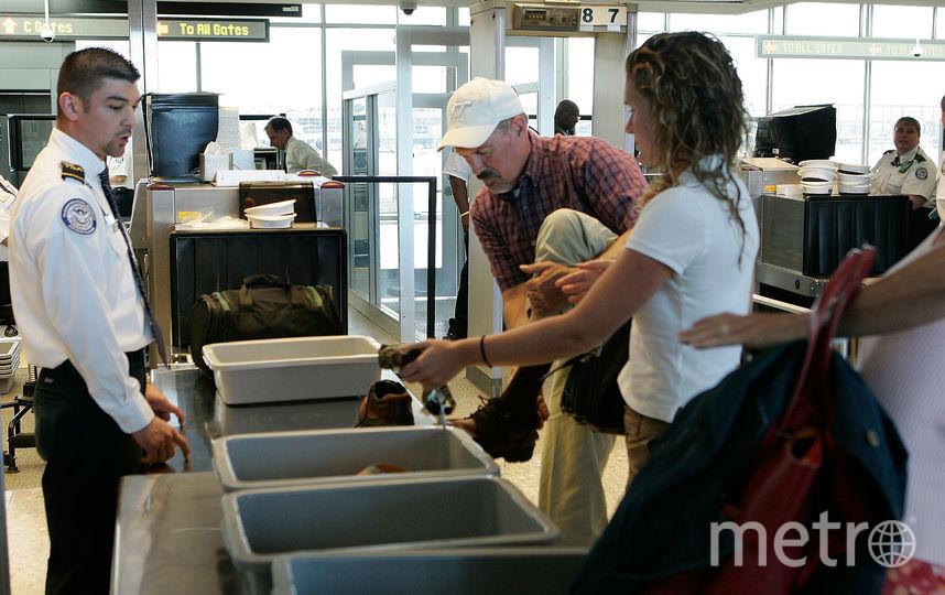 Службы безопасности в аэропортах США. Фото Getty