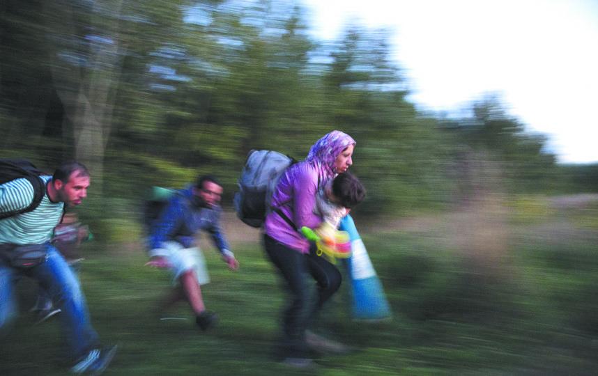 Беженцы страдают от расовой дискриминации. Фото Getty