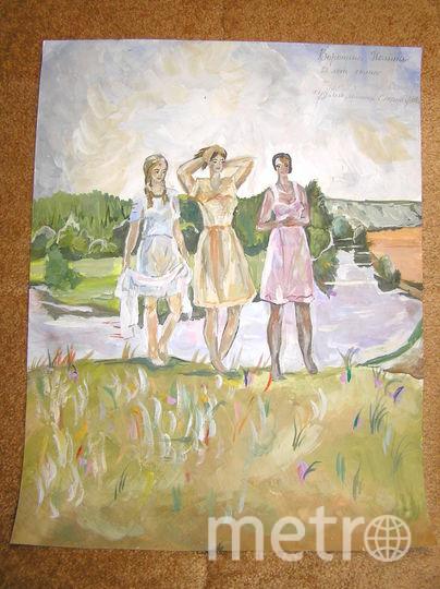 Рисунок Ворониной Полины 12 лет. Фото Воронин Эдуард