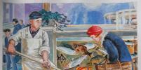 Москвичи рисуют в стиле соцреализма