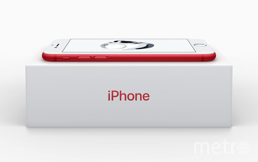 iPhone 7 ProductRED. Фото Скриншот: apple.com.