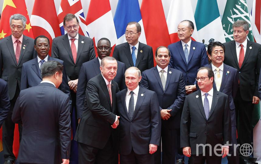 Лидеры России и Турции: Владимир Путин и Реджеп Эрдоган. Фото Getty