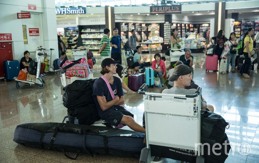 Туристы не испугались землетрясения на Бали