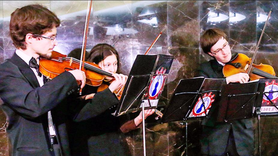 В московской подземке начнут выступать музыканты. Фото mos.ru