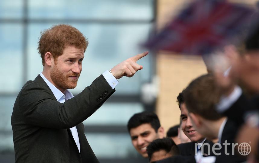 Принц Гарри. Архивное фото. Фото Getty
