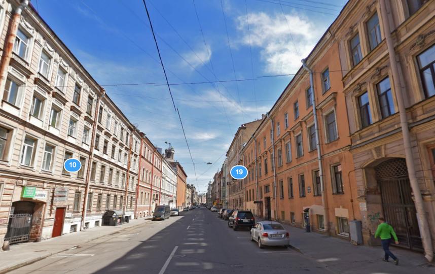 В Петербурге более сотни зданий нуждаются в реставрации. Фото Яндекс.Панорамы.