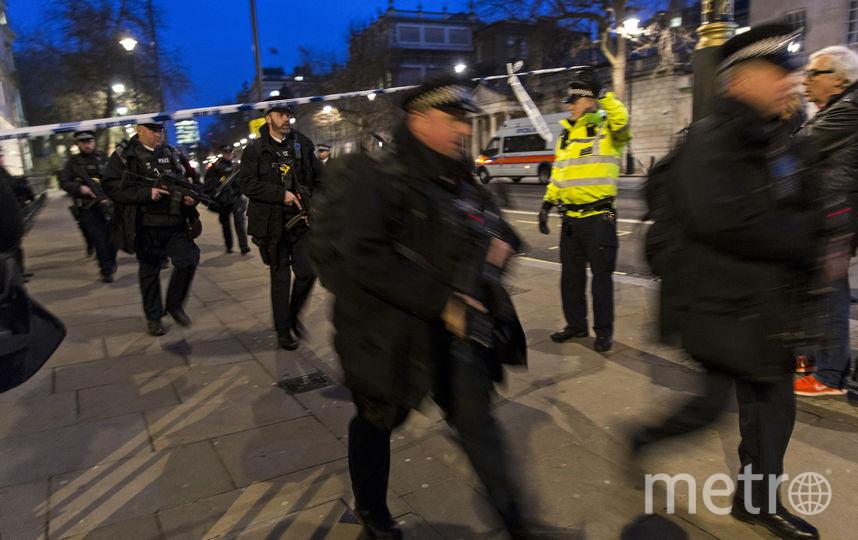Лондон после теракта. Фото AFP