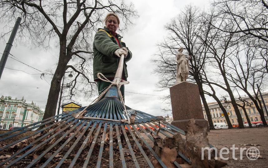 """Городские службы начали активную уборку. Фото """"Metro"""""""