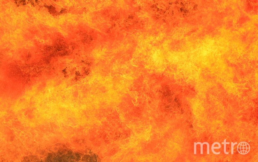 Спасатели ликвидировали пожар в Колпинском районе Петербурга. Фото Getty