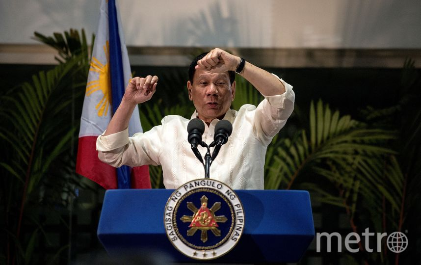 Президент Филиппин Родриго Дутерте. Фото AFP