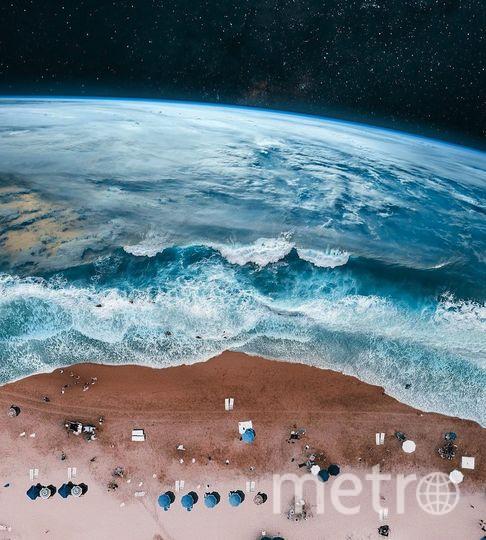 Планета-пляж. Фото предоставил Хусейн Сахин