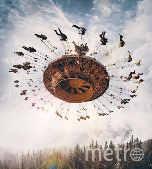 Карусель в воздухе. Фото предоставил Хусейн Сахин