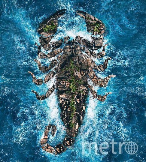 Остров-скорпион. Фото предоставил Хусейн Сахин