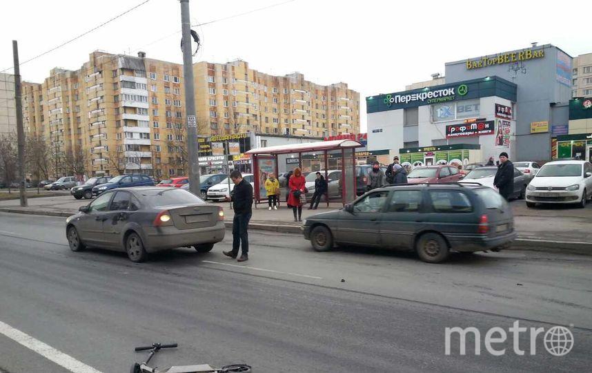 Свидетели: человека насамокате сбили на«зебре» Шлиссельбургского