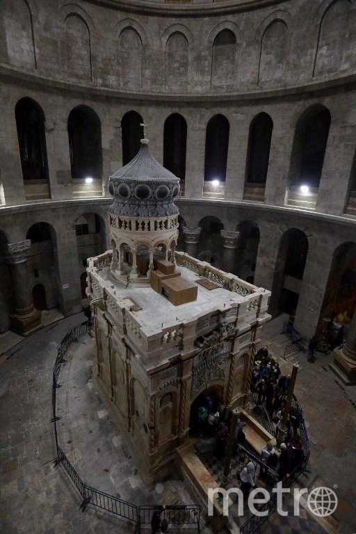 Гробница Христа в Иерусалиме. Фото AFP
