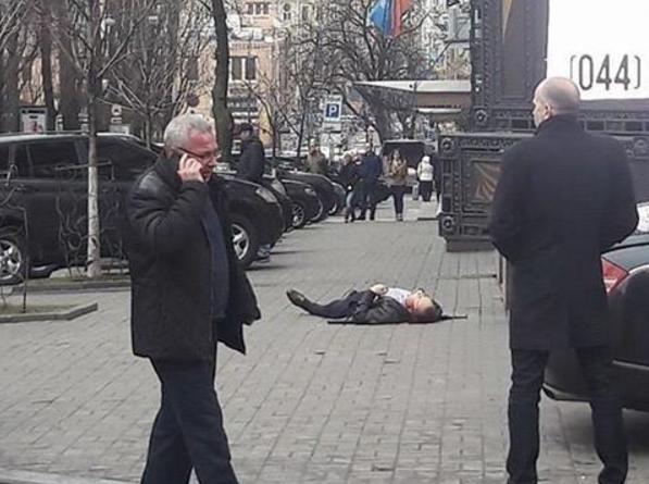 фото с места происшествия в Киеве. Фото Instagram
