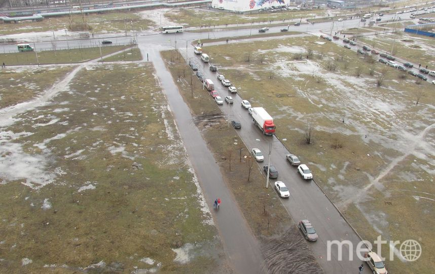 Петербуржцы создали карту убитых газонов. Фото Красивый Петербург, vk.com