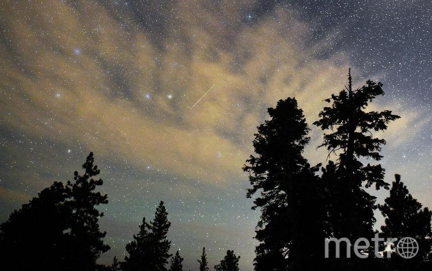 Падение метеорита. Архивное фото. Фото Getty