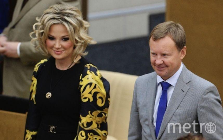Вороненков и Максакова. Фото РИА Новости