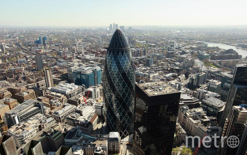 Небоскрёб Mary Axe в Лондоне. Фото Getty