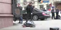 В Сети появилось первое видео с места убийства Дениса Вороненкова